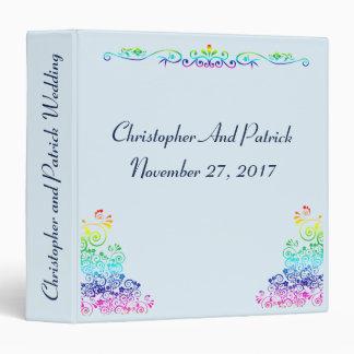 Rainbow Gay Elegant Stylish Pride Album Binder
