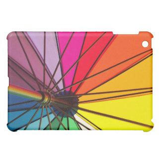 Rainbow gay pride colorful umbrella iPad case