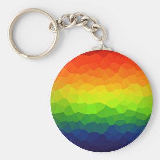 Rainbow Gay Pride Colors LBGT Symbol Keychain