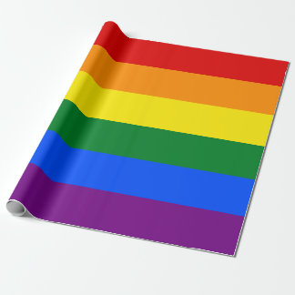 RAINBOW GAY PRIDE FLAG | WRAPPING PAPER
