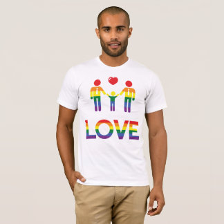 Rainbow Gay Pride T-Shirts For Men Love