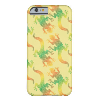 Rainbow Gecko Party Barely There iPhone 6 Case