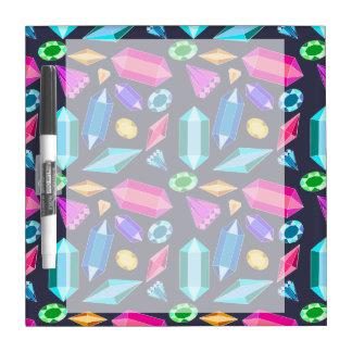Rainbow Gems Dry Erase Whiteboards