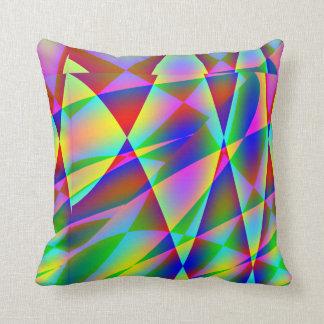 Rainbow Geo American MoJo Pillow