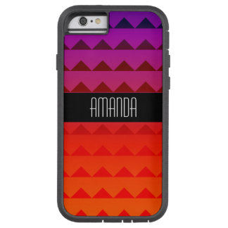 Rainbow Geometric Triangle Pattern Tough Xtreme iPhone 6 Case