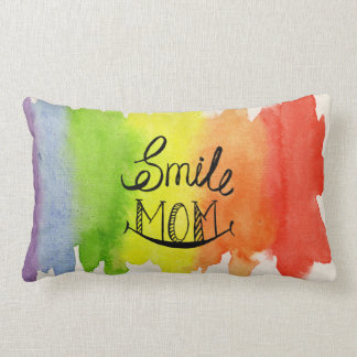 Rainbow Gets Colours From Mom's Smile Pillow