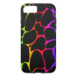 Rainbow Giraffe iPhone 7 Case