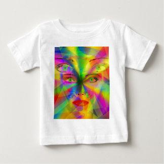 Rainbow girl baby T-Shirt