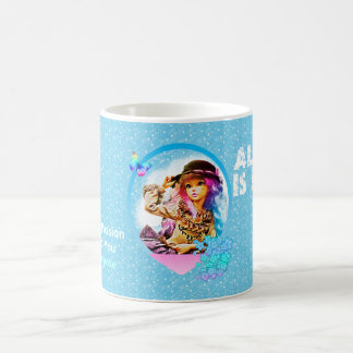 Rainbow Girl Coffee Mug