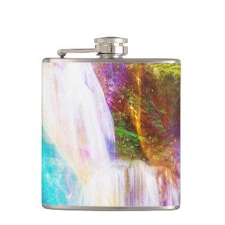 Rainbow Girl Garden Hip Flask