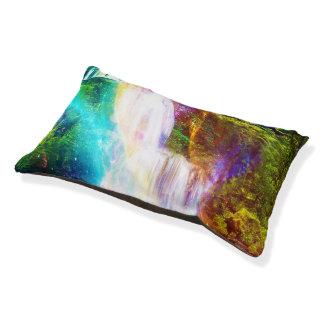 Rainbow Girl Garden Pet Bed