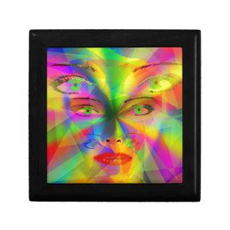 Rainbow girl gift box