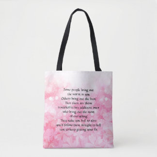 Rainbow Girl (Pink Mac) Tote Bag