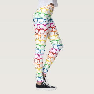 Rainbow Glasses Leggings