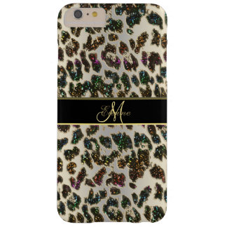 Rainbow Glitter Leopard iPhone 6 Plus Case