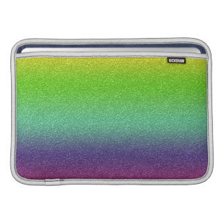 Rainbow Glitter Texture Macbook Air Sleeve