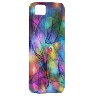 rainbow glowing lights case for the iPhone 5