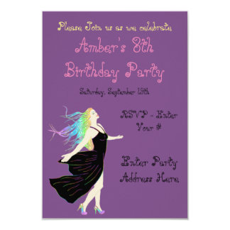 Rainbow Goddess Birthday Card