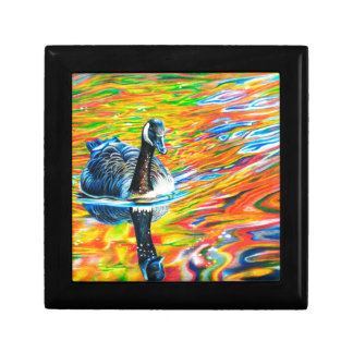 Rainbow Goose Gift Box