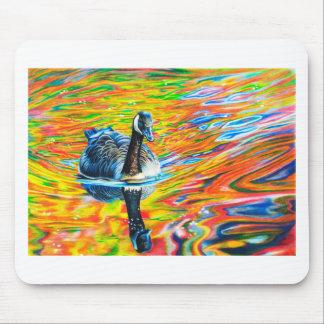 Rainbow Goose Mouse Pad