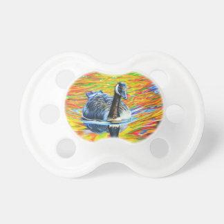 Rainbow Goose Pacifier