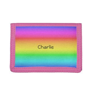 Rainbow Gradient custom name wallets
