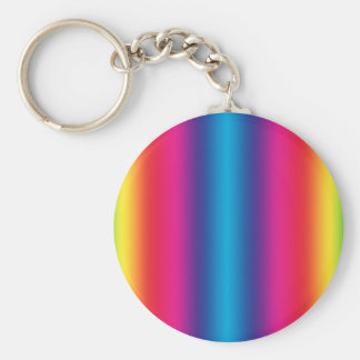Rainbow Gradient - Customized Rainbows Template Keychain