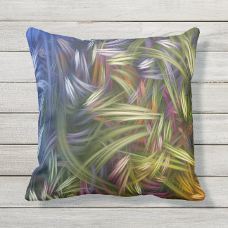 RAINBOW GRASS OUTDOOR PILLOW