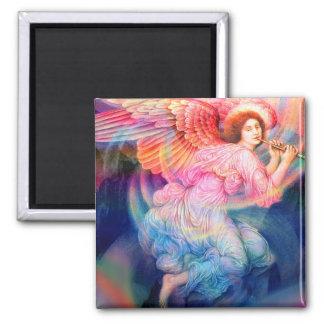 Rainbow Guardian Angel Magnet