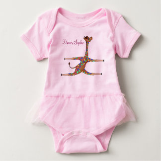 Rainbow Gymnastics by The Happy Juul Company Baby Bodysuit