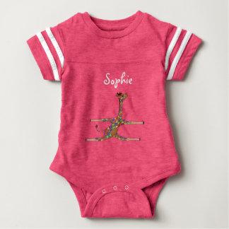 Rainbow Gymnastics by The Happy Juul Company Baby Bodysuit