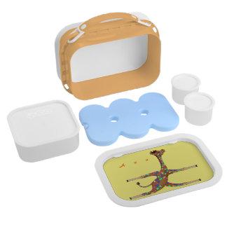 Rainbow Gymnastics by The Happy Juul Company Lunch Box