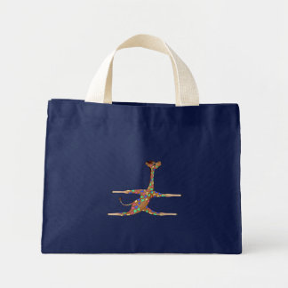 Rainbow Gymnastics by The Happy Juul Company Mini Tote Bag