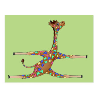 Rainbow Gymnastics by The Happy Juul Company Postcard
