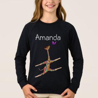 Rainbow Gymnastics by The Happy Juul Company Sweatshirt