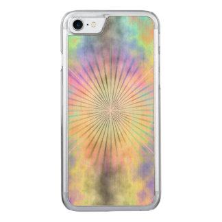 Rainbow Halo Star Burst Carved iPhone 8/7 Case