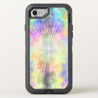 Rainbow Halo Star Burst OtterBox Defender iPhone 8/7 Case