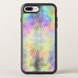 Rainbow Halo Star Burst OtterBox Symmetry iPhone 8 Plus/7 Plus Case