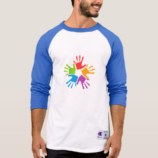 Rainbow Hands T shirt