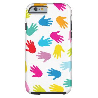 Rainbow Hands Tough iPhone 6 Case