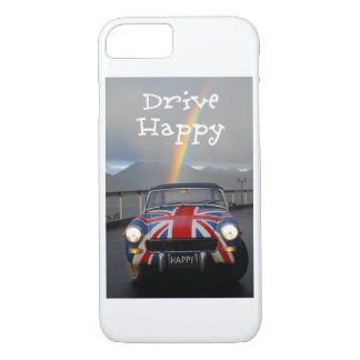 rainbow happy car iPhone 8/7 case