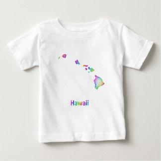 Rainbow Hawaii map Baby T-Shirt