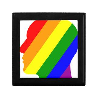 Rainbow Head Gift Box