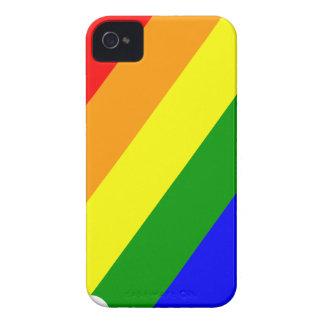 Rainbow Head iPhone 4 Case