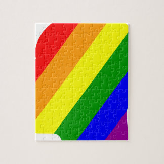 Rainbow Head Jigsaw Puzzle