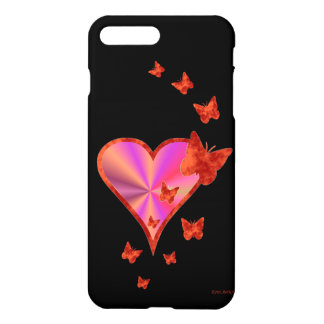 Rainbow Heart and Butterfly iPhone 8 Plus/7 Plus Case