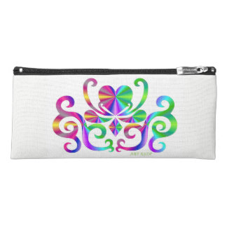 Rainbow Heart and Lily Pencil Case