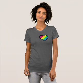 RAINBOW HEART BEAT T-Shirt