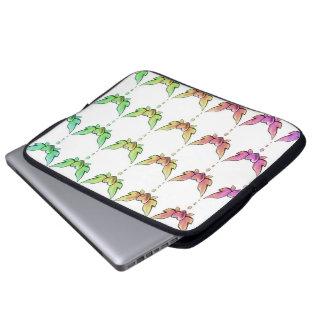 Rainbow Heart Myriad Computer Sleeves