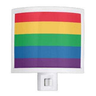 Rainbow Heart Pride Night Light